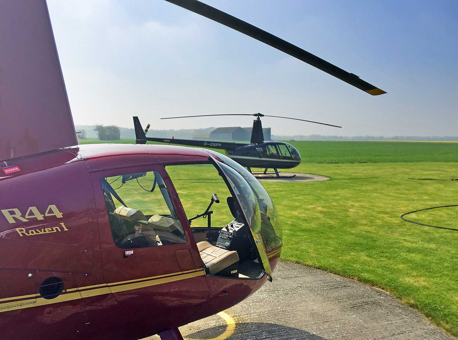 Helicopter rides yorkshire