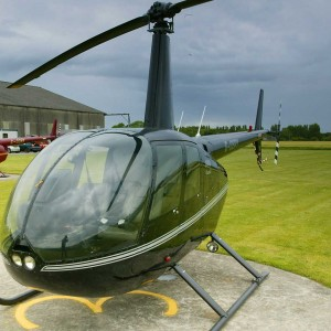 Our Robinson R44 helicopters allow you to bring friends along on your trial flight