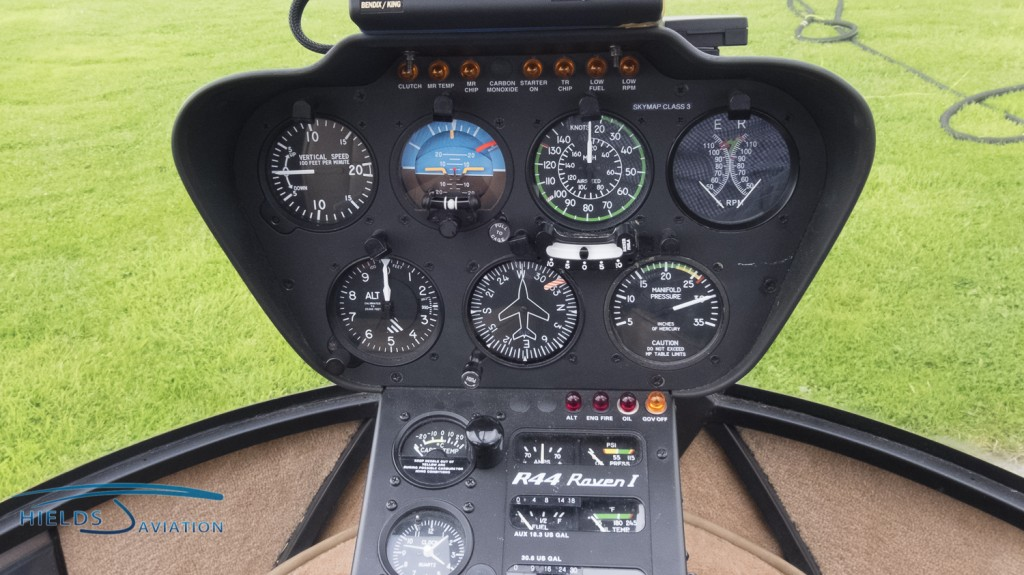 Learn to fly our Robinson R44 helicopters