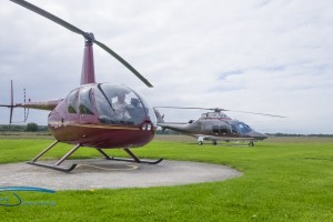 The R44 is often seen as a stepping stone to larger types