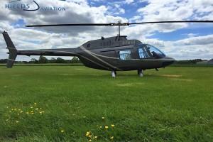 Bell Jetranger training in Yorkshire