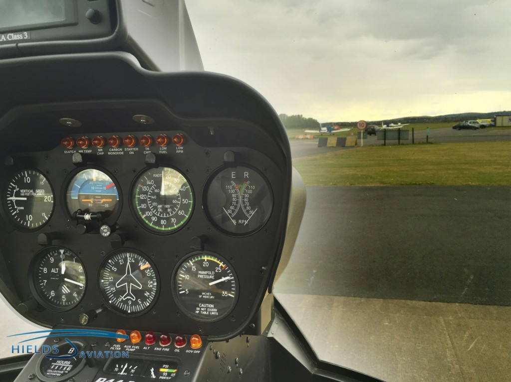 The unique controls of a helicopter can be mastered by many different people