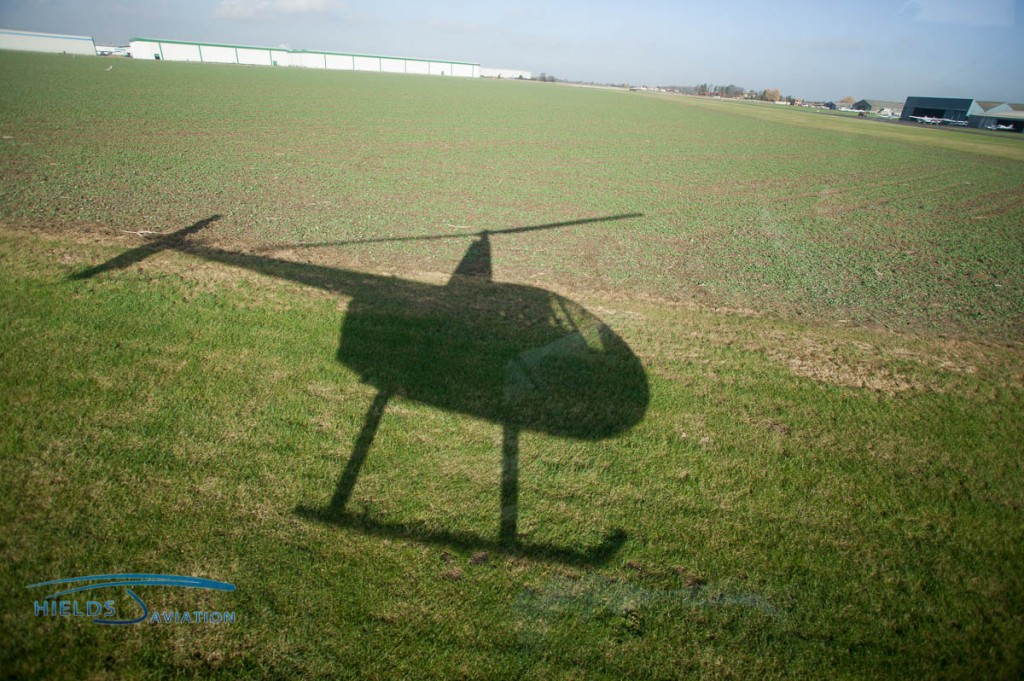 Helicopter shadows are always fun on Facebook