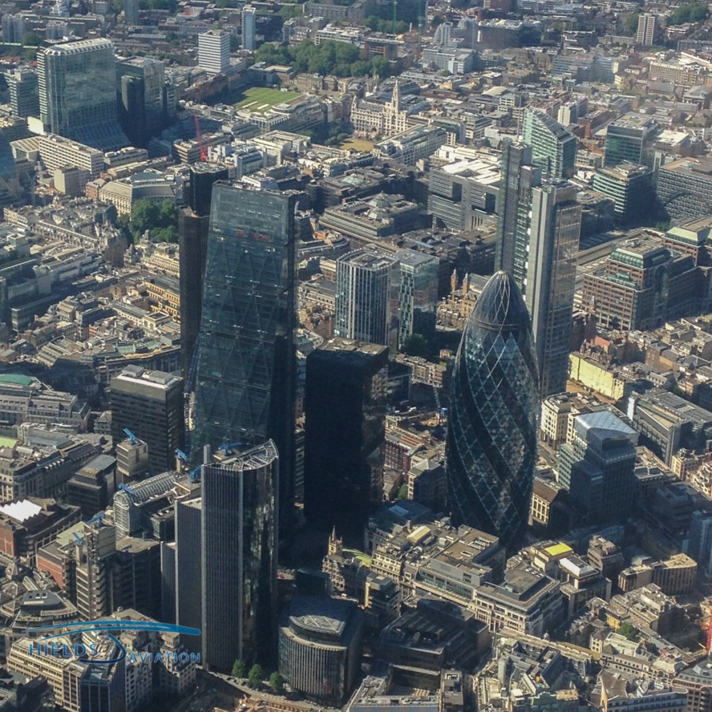 Views of The Shard and other high profile buildings