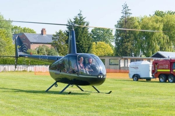 Helicopter flight experience