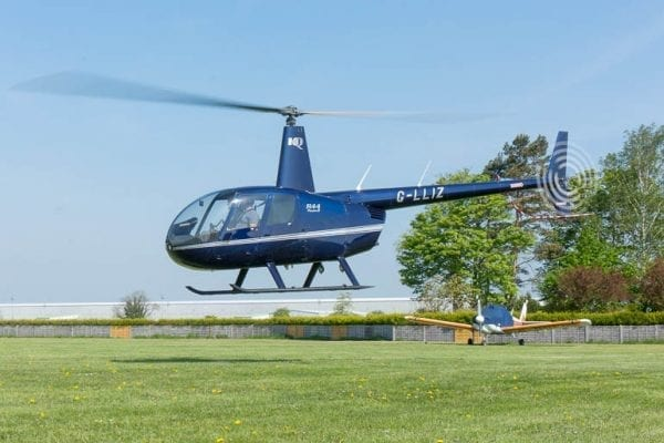 Helicopter lesson gift experience