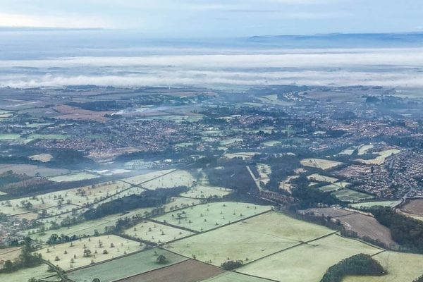 North Yorkshire flight experience